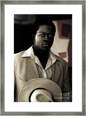 Man On Dangerous Business Framed Print by Jorgo Photography - Wall Art Gallery