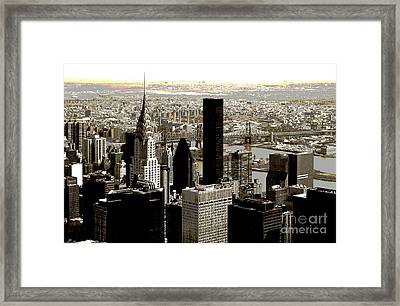 Manhattan Framed Print by RicardMN Photography