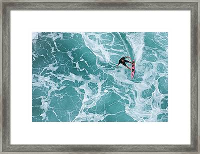 Marble Carve Framed Print by Sean Davey