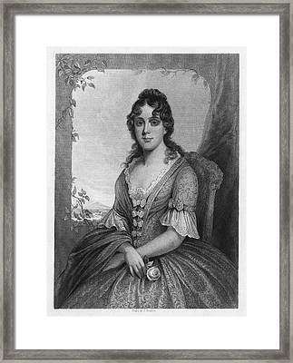 Martha Jefferson Randolph (1772-1836) Framed Print by Granger