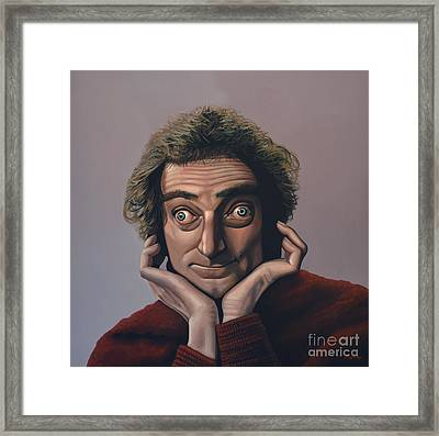 Marty Feldman Framed Print by Paul Meijering