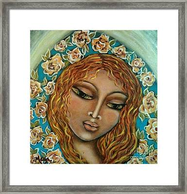 Mary Mary Framed Print by Maya Telford