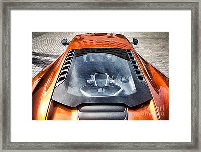 Mclaren Mp4-12c Framed Print by Nathan Heldman
