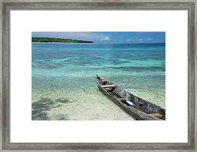 Melanesia, Solomon Islands, Santa Cruz Framed Print by Cindy Miller Hopkins