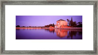 Menara, Marrakech, Morocco Framed Print by Panoramic Images