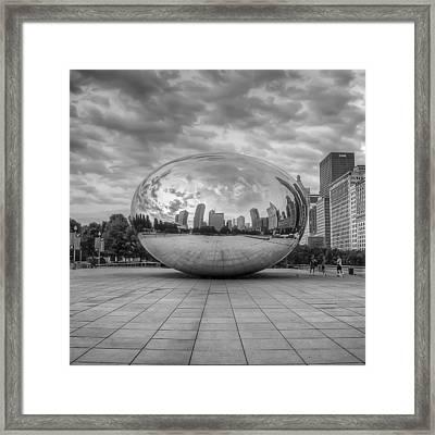 Mercury Drop Framed Print by Noah Katz