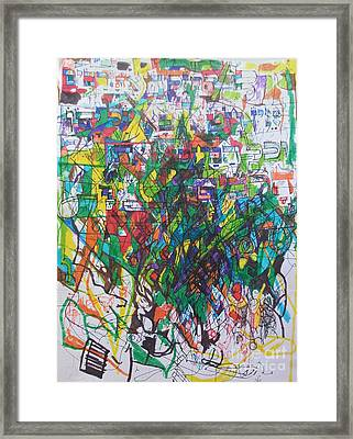 Meriting The Multitudes Framed Print by David Baruch Wolk