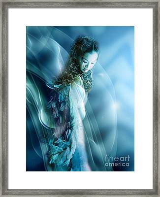 Mermaid Framed Print by VIAINA Visual Artist