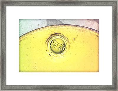 Metal Can Framed Print by Tom Gowanlock