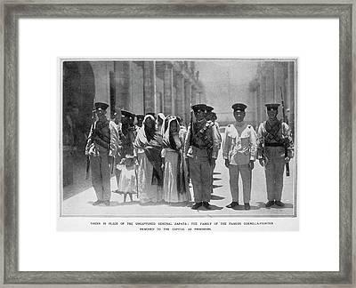 Mexican Revolution, 1913 Framed Print by Granger