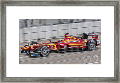 Miami  Eprix Championship Street Race Framed Print by Rene Triay Photography