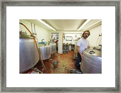 Micro Brewery Framed Print by Ashley Cooper