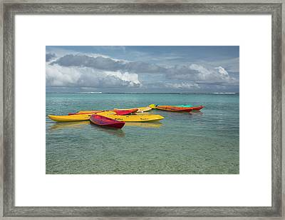 Micronesia, Mariana Islands Framed Print by Cindy Miller Hopkins