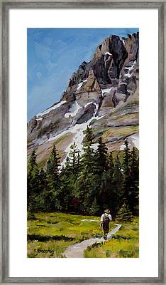 Miles From Nowhere Framed Print by Mary Giacomini