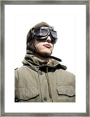Military Man Framed Print by Jorgo Photography - Wall Art Gallery