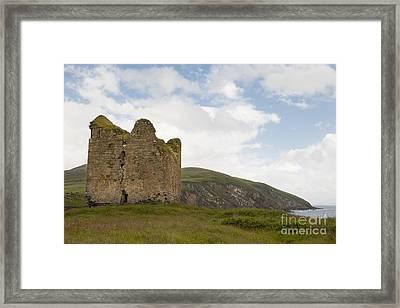 Minards Castle, Dingle Peninsula Framed Print by John Shaw