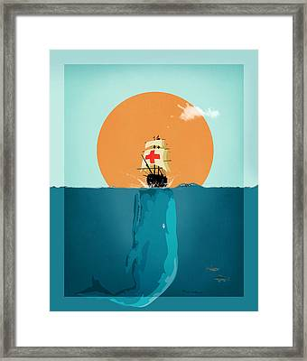 Moby  Framed Print by Mark Ashkenazi