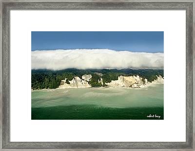 Moens Klint Framed Print by Robert Lacy