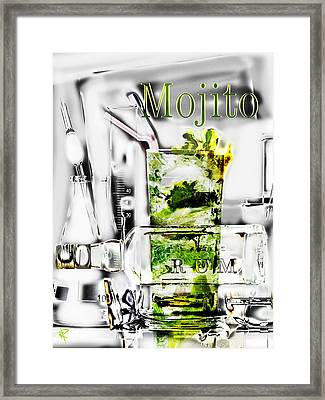 Mojito Framed Print by Russell Pierce