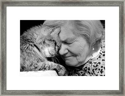 Moment In Time Framed Print by Fraida Gutovich