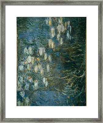Monet, Claude 1840-1926. Morning Framed Print by Everett