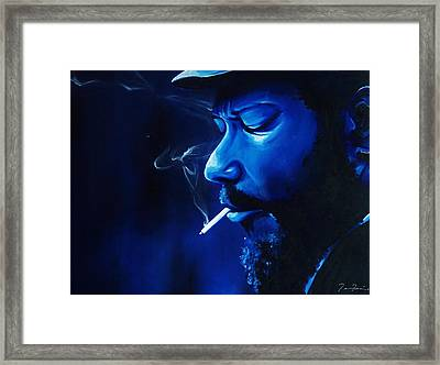 Monks Funk Framed Print by Torrey Franklin