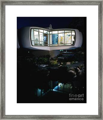 Monsanto House Of The Future By Marvin Goody, 1961 Framed Print by The Phillip Harrington Collection