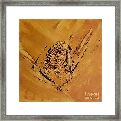 Moonscape Iv Framed Print by Christiane Schulze Art And Photography
