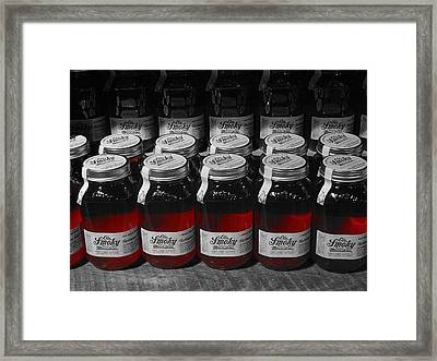 Moonshine Framed Print by Dan Sproul