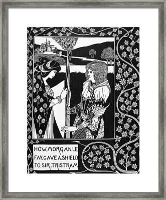 Morgan Le Fay Framed Print by Granger