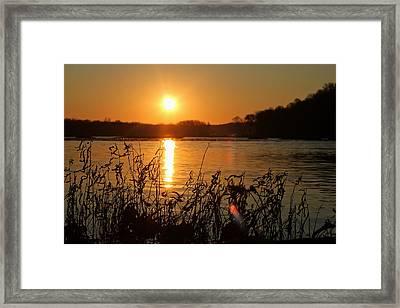 Morning Calm  Framed Print by Everett Houser