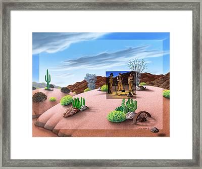 Morning Cup O Joe Framed Print by Snake Jagger