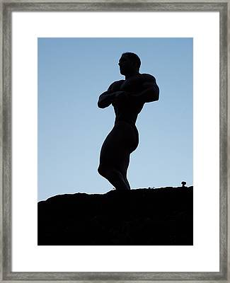 Morning Muscle Framed Print by Jake Hartz