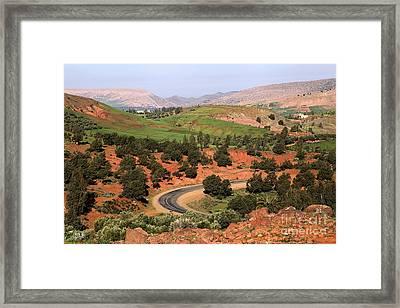 Morocco Framed Print by Sophie Vigneault