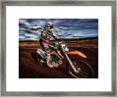 Motocross Framed Print by Sam Smith Photography
