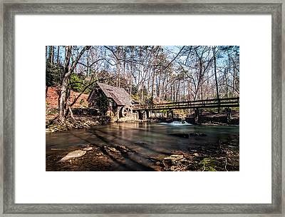 Mountain Brook Mill Framed Print by Andy Crawford