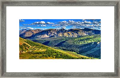 Mountain View Framed Print by Scott Mahon