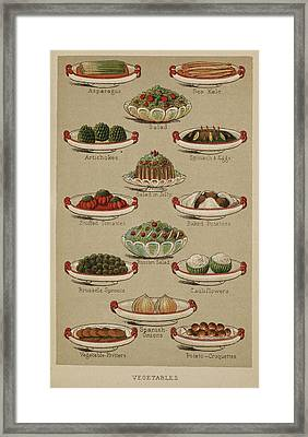 Mrs. Beeton's Family Cookery And Housekee Framed Print by British Library