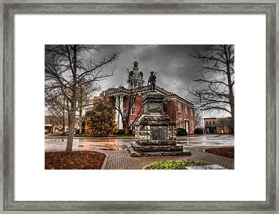 Murfreesboro Town Hall Framed Print by Brett Engle