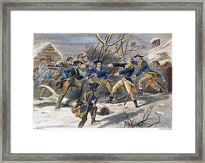 Mutiny: Anthony Wayne 1781 Framed Print by Granger