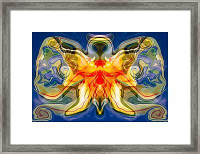 My Angel Framed Print by Omaste Witkowski