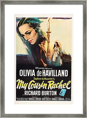 My Cousin Rachel, Olivia De Havilland Framed Print by Everett