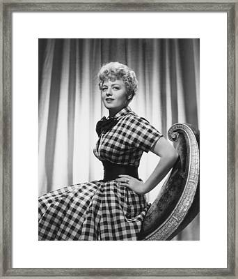 My Man And I, Shelley Winters, 1952 Framed Print by Everett