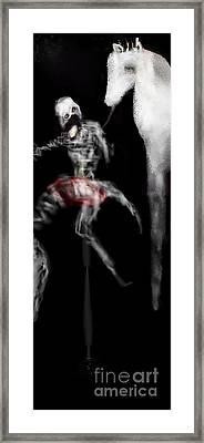 My Prehistoric Dead Horse Framed Print by Ruth Clotworthy