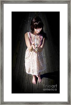 Mystery Message Framed Print by Jorgo Photography - Wall Art Gallery