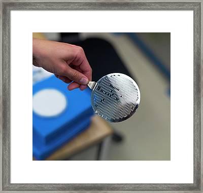 Nanofrazor Lithography Framed Print by Ibm Research