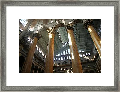 National Building Museum Framed Print by Cora Wandel