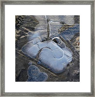 Nature Abstraction Framed Print by Marija Djedovic