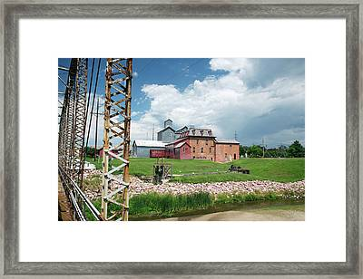 Neligh Mill Framed Print by Jim West