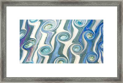 Neptunian Framed Print by Jubilant  Art
